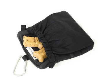 Dog Training Treat Bag Pocket 2.0 in Black