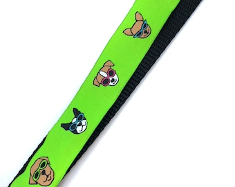 1 Inch Wide Dog Collar with Adjustable Buckle or Martingale in Sample