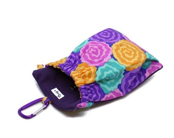 The Pocket 2.0 - Treat and Training Pouch - Flowers -   Large Size