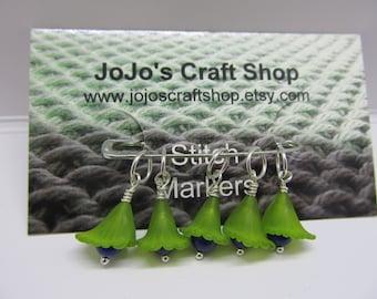 Flower Stitch Marker Set