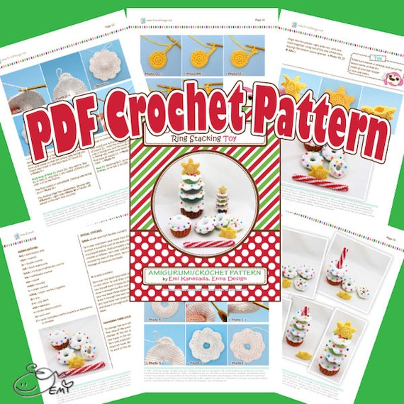 Animal Stacking Toy Crochet Pattern Printable PDF | Baby Stacker ... | 570x570