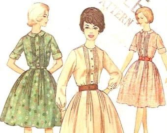 60s Simplicity 4667 Bridesmaid dress rockabilly Frock Vintage sewing pattern Bust 36 UNCUT