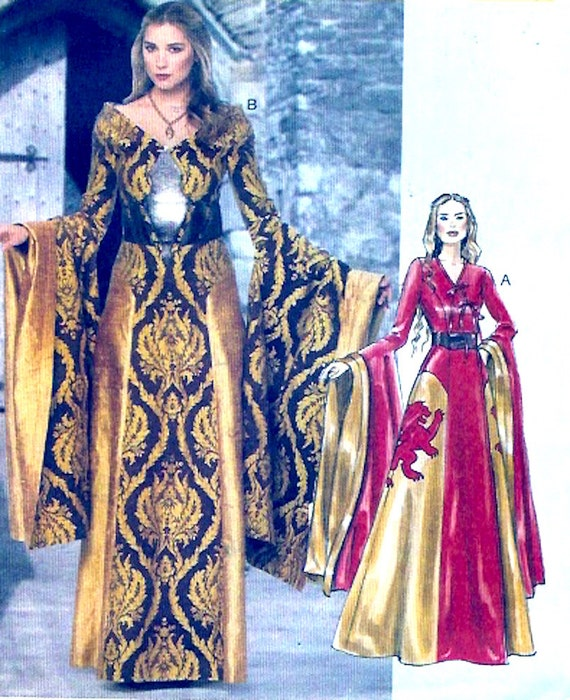 Medieval Style Evening Dresses