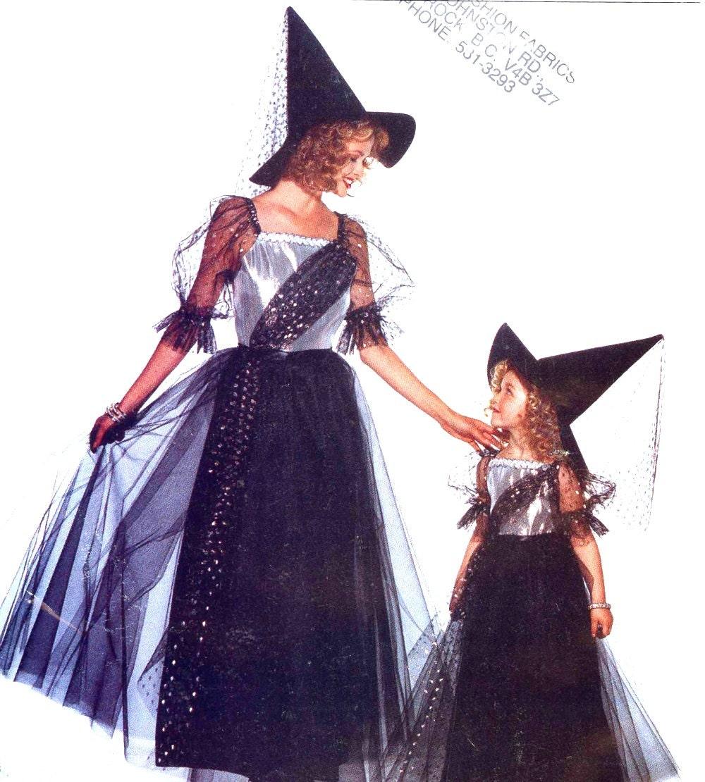 Witch Costume Pattern Custom Design Ideas