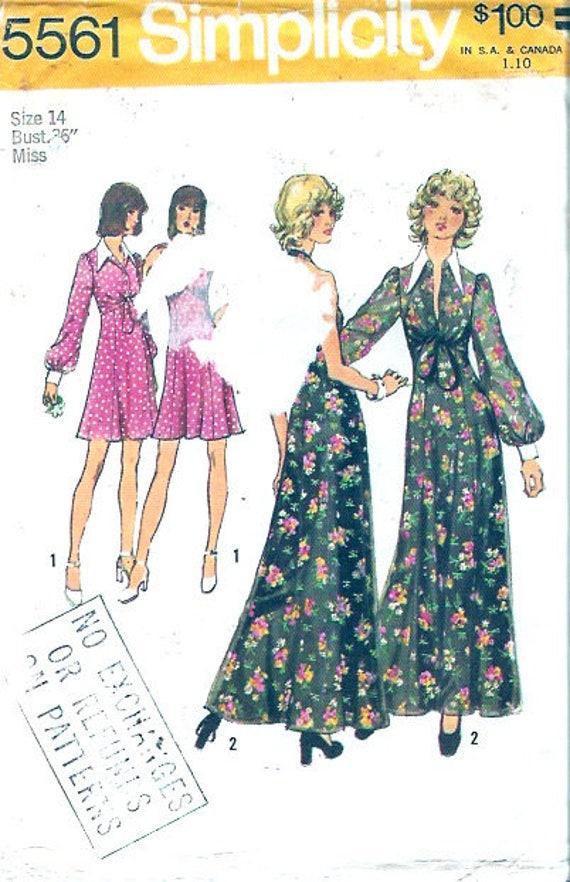 años 70 halter cabestro vestido de noche grad Vestido de   Etsy