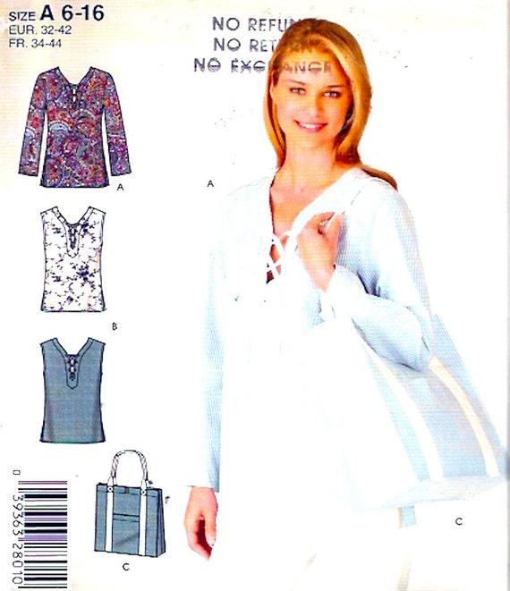 Lässige Tuniken Schnittmuster Shopping Tote Bag Stil | Etsy