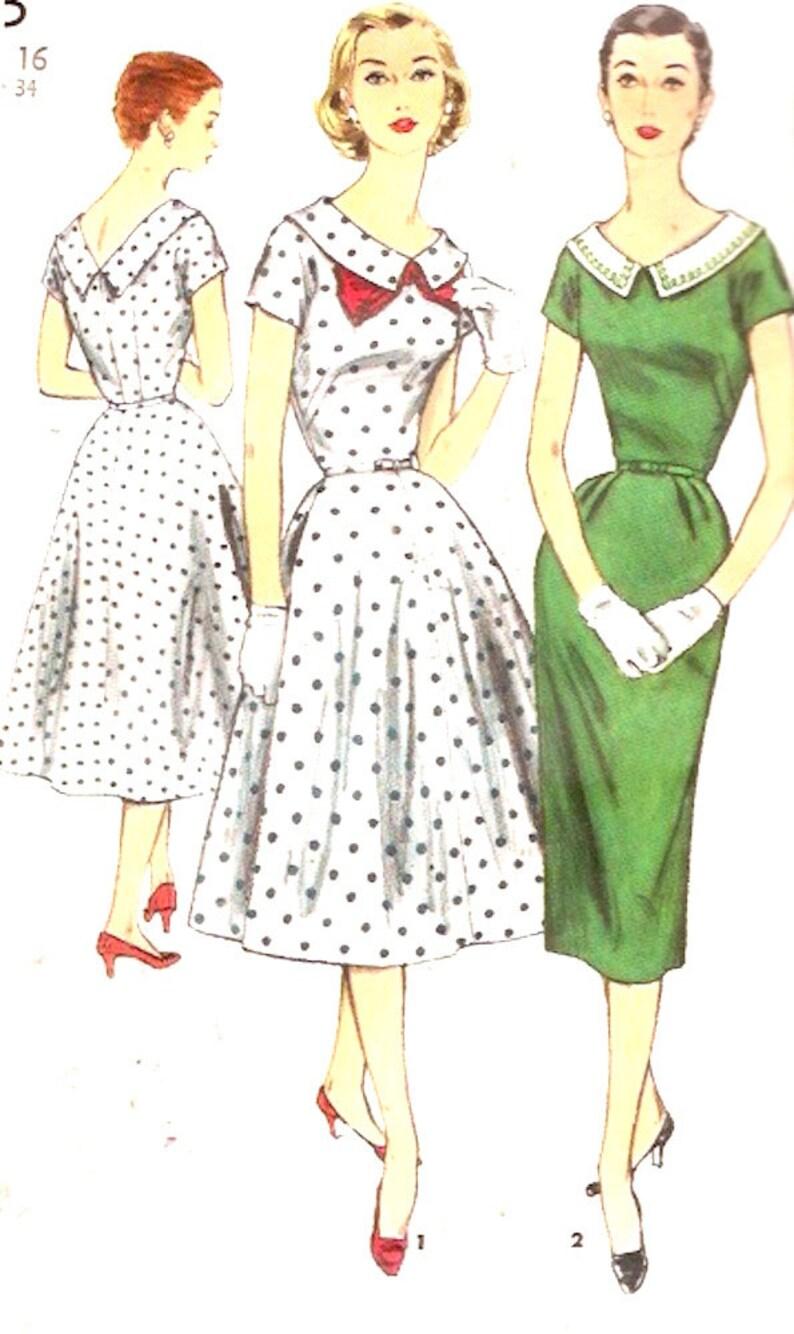 d89e02f8da5 50s Rockabilly dress vintage 1950s bridesmaid frock full or