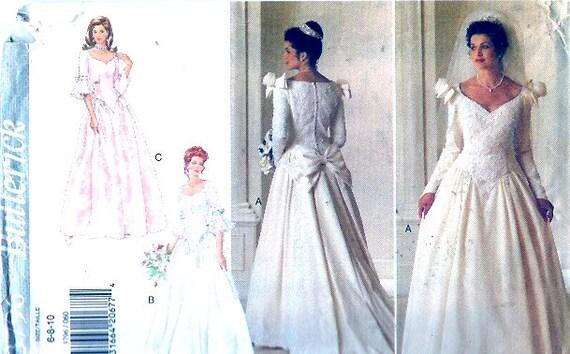 Bräute romantische Hochzeit Kleid Vintage 90er Jahre | Etsy