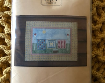 Quilter's Wash Day Pattern + Kit Paper Foundation NEW Unused