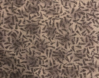 "Thimbleberries Mossy Green Cotton Fabric 33"" x 44"""