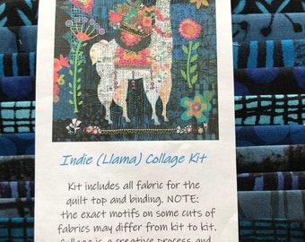 Laura Heine Indie Llama Collage Kit No Pattern