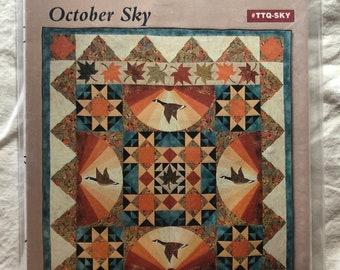 Time to Quilt October Sky by Cathy Wierzbicki #TTQ-SKY