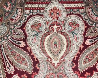 Timeless Treasures Vintage 1998 Hi-Fashion Kashmir Cotton Fabric