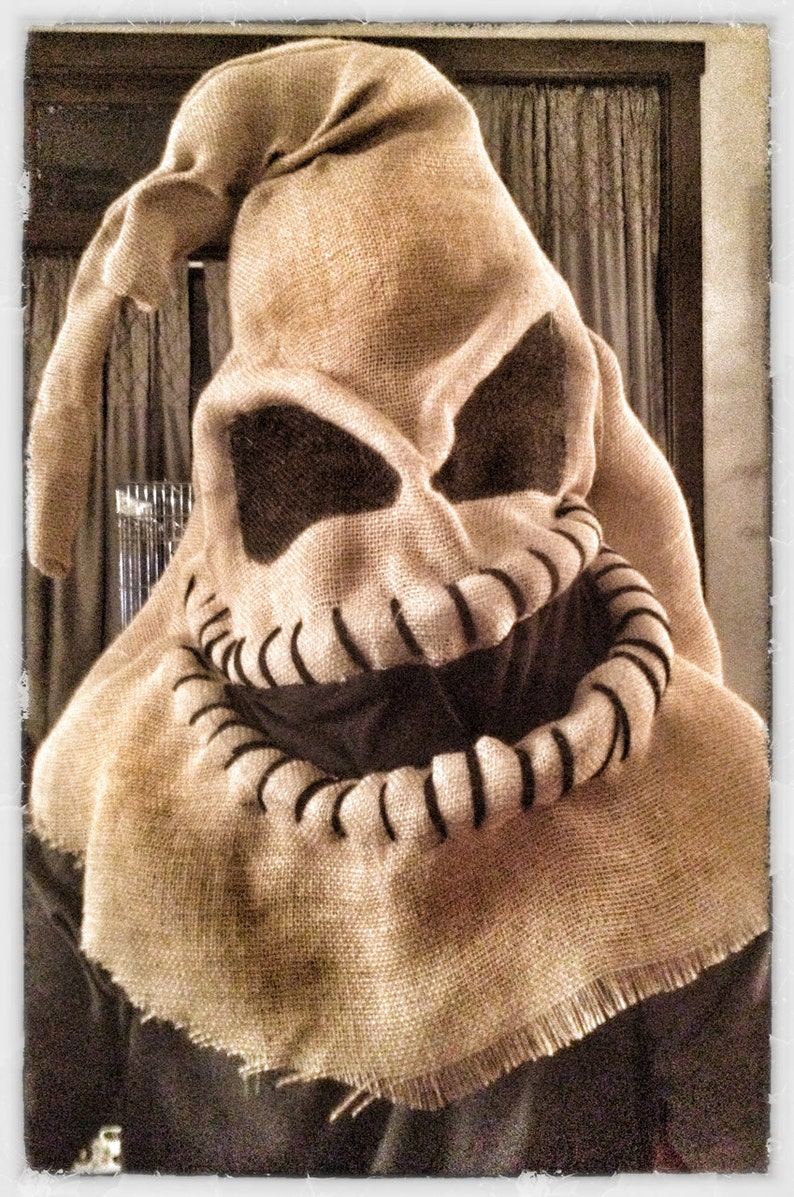 Oogie Boogie A Nightmare Before Christmas Costume One Size image 0
