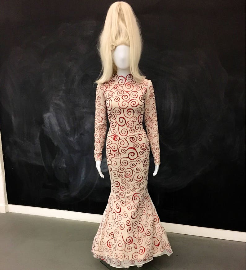 Mars Attacks Female Alien Dress and Wig image 0