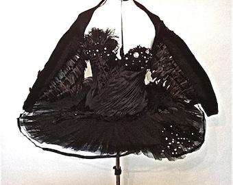 Black Swan Costume with Wings
