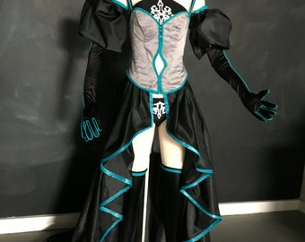 Custom Made Hatsune Miku Synchronicity Cosplay
