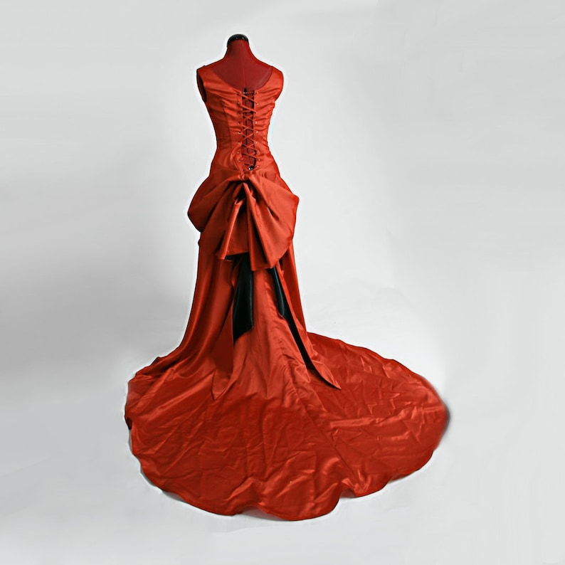 Moulin Smoldering Temptress Satine Red Gown image 0