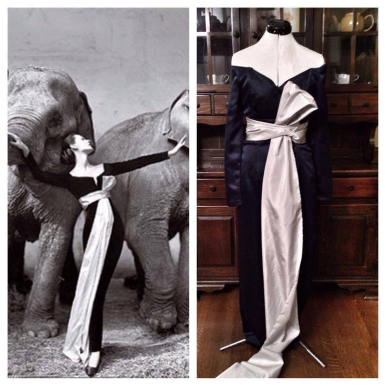 Richard Avedon replica dress image 0