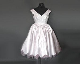 ON SALE - Neopolitan Tea Wedding Gown