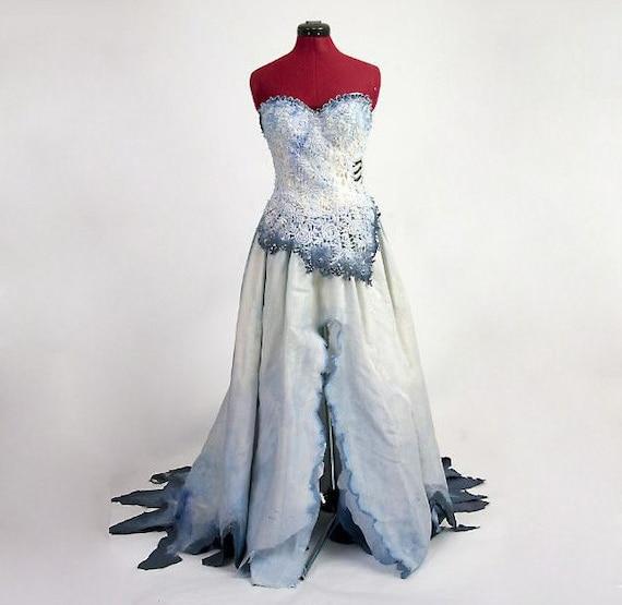 Corpse Bride Costume , Based on Tim Burton movie , Made to Order