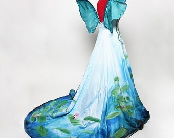 Monet Inspired Waterlilies Fairy Costume - Made to Order