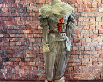 Pennywise corseted costume - 4 Piece, size M/L - Ready to ship today