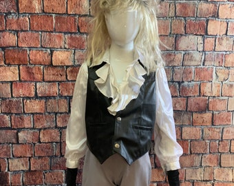 Child's Jareth Labyrinth David Bowie Costume - Size 6-8 - ready to ship today