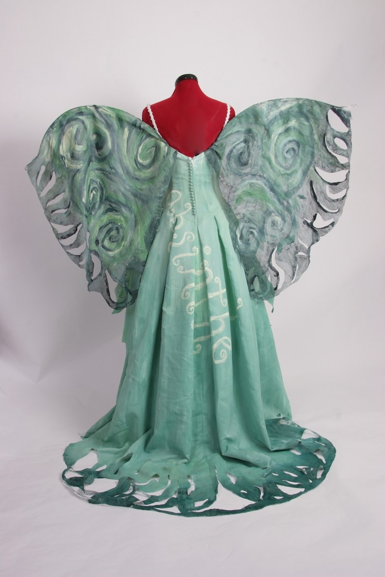 Absinthe Fairy  La Fee Verte  The Green Fairy Gown  Made to image 0