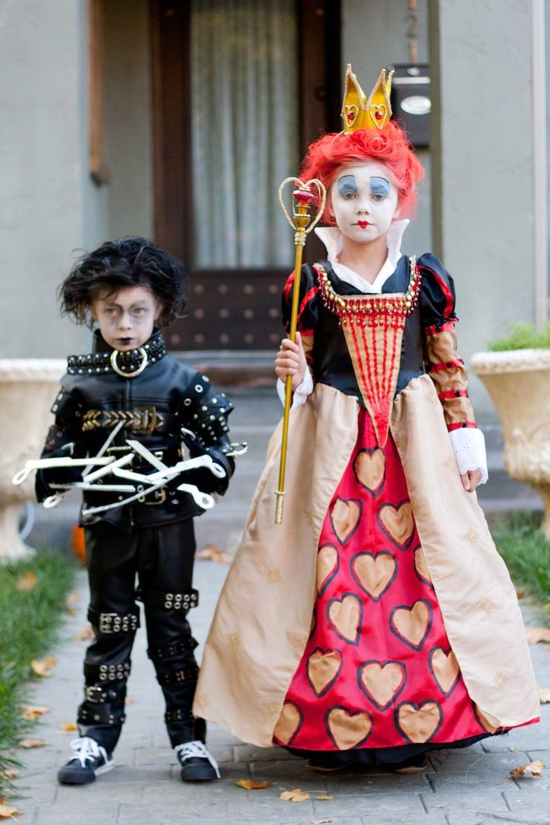 Tim Burton children's costumes  Edward Scissorhands or image 0