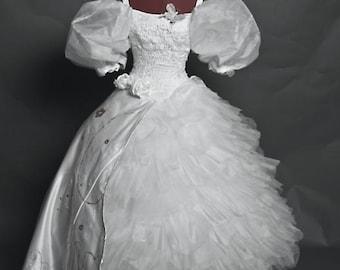 Enchanted Giselle Handmade Wedding Dress Costume