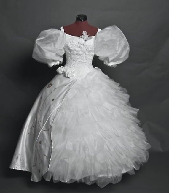Enchanted Giselle Handmade Wedding Dress Costume | Etsy