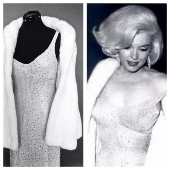 Marilyn Monroe-Replica-Kleid glücklich Geburtstag Herr