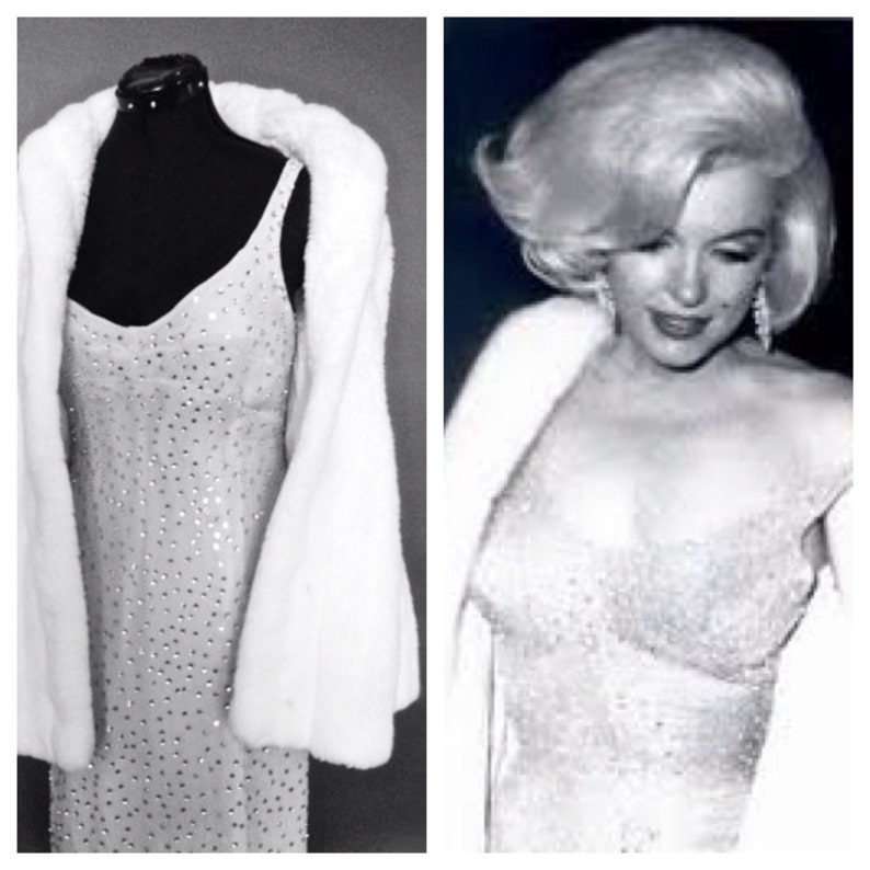 Marilyn Monroe Replica Dress  Happy Birthday Mr. President image 0