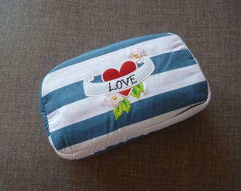 LOVE Tattoo Cosmetic Bag *Reduced Seconds