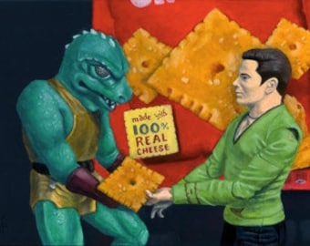 "Star Trek Cheez-It print #1 ""The Power of Cheez It #1 - Detant"""