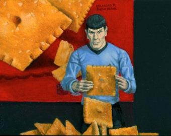 "Star Trek Cheez-It print #3 ""The Power of Cheez It #3 - Addiction"""