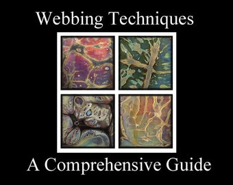 Lampwork Tutorial, Webbing Techniques -  A Comprehensive Guide