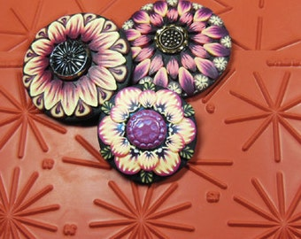 Peace of the Pie! Radial Marking Tool Stamp for Polymer Clay, Pottery Clay and Drawing Mandalas