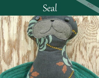 Seal Pattern Stuffed Animal Pattern Download Now