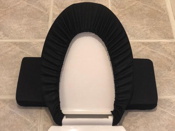 Fantastic Solid Black Toilet Seat Lid Tank Lid Cover Set Machost Co Dining Chair Design Ideas Machostcouk