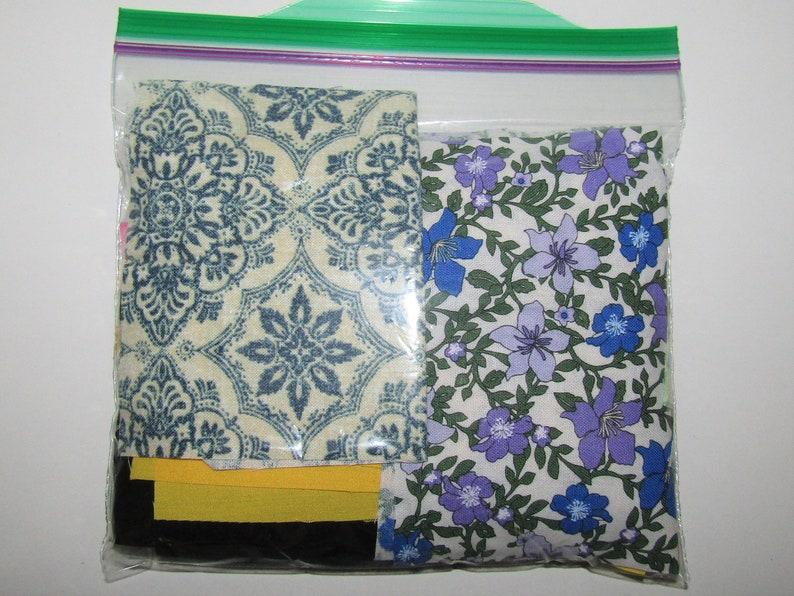 PIF---HAGIRE BAG Fabric Remnant...Medium Bag...