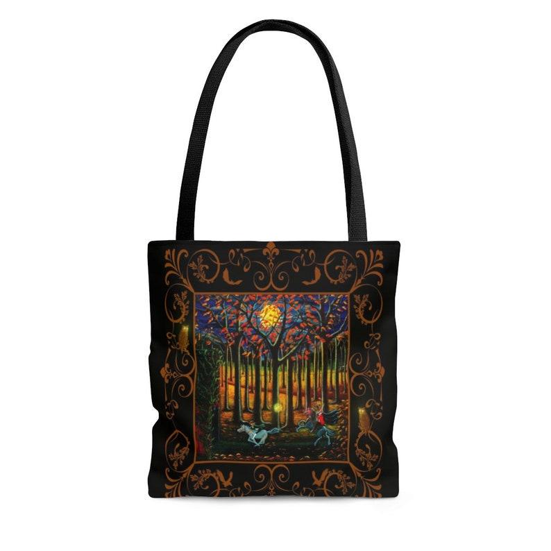 Halloween AOP Tote Bag