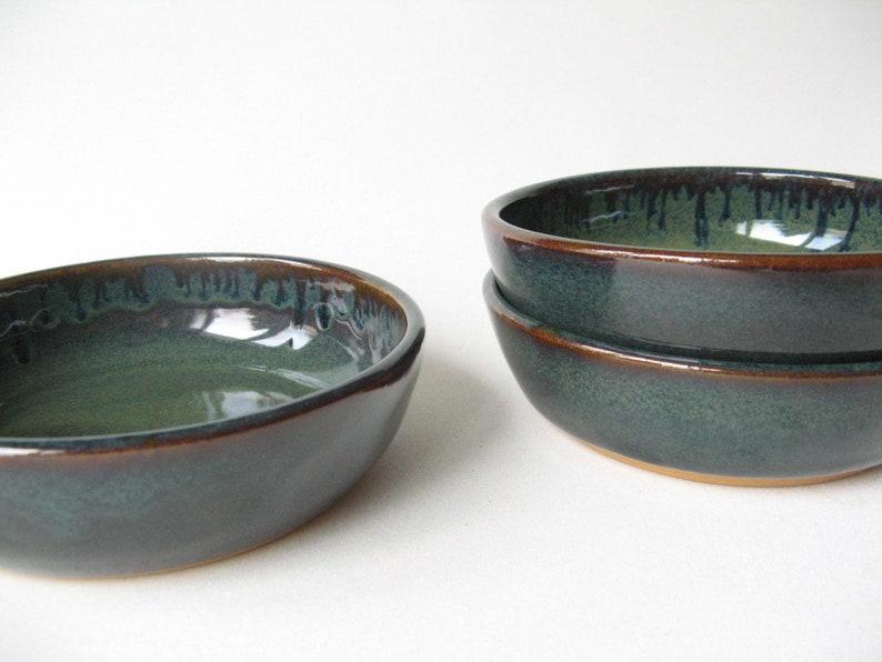 Pottery Bowls Stoneware Bowls Set of Soup Bowls Pottery Bowls Set of 4