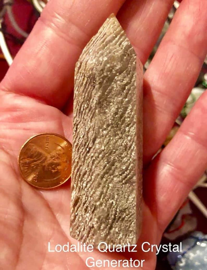 Unique The Shaman Stone aka Isis Stone Lodalite Crystal image 0
