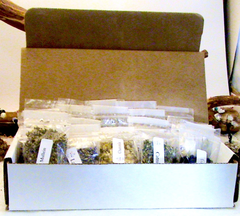 Choose 20-bags of wiccan/pagan herbs Mix n Match Wiccan image 0