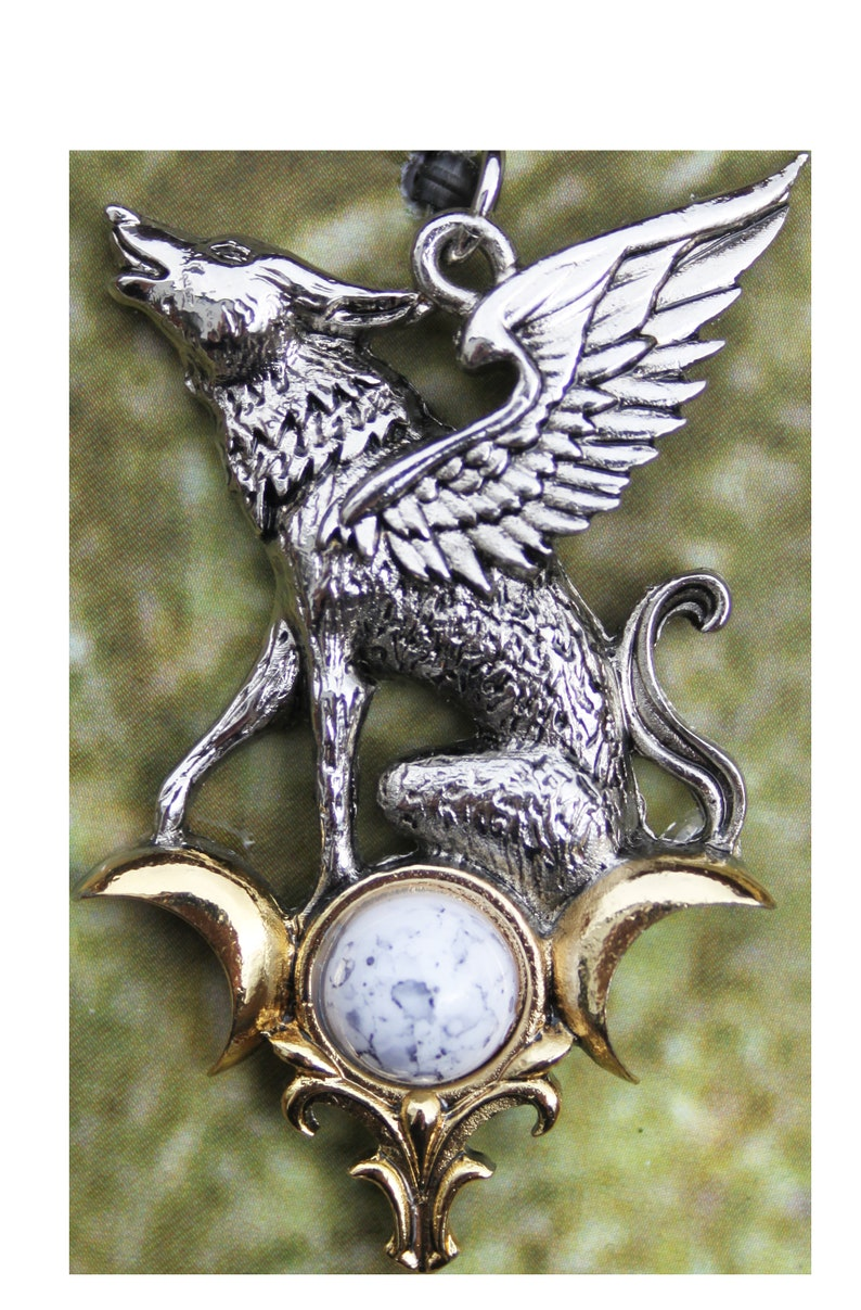 NEW The Barghest for Otherworldly Knowledge Pendant w/ Chain image 0