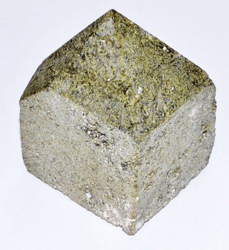 Epidote top polished Crystal Gemstone Point-Clear image 0
