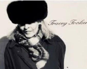 Tracey Tooker Vintage Arctic Fox Hat
