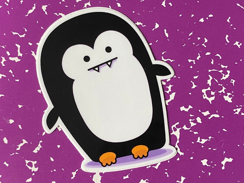 STICKER  Fanguin Penguin Sticker image 0